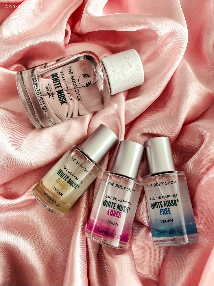 The Body Shop White Musk Fragrance Layering Topper